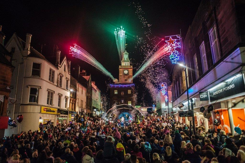 Dumfries Christmas Lights
